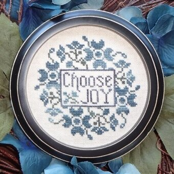 Choose Joy - Cross Stitch Pattern