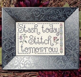 Stash Today, Stitch Tomorrow - Cross Stitch Pattern