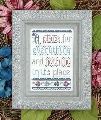Place For Everything, A - Cross Stitch Pattern