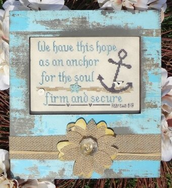 An Anchor for the Soul - Cross Stitch Pattern