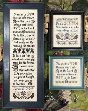 Blessed Is - Cross Stitch Pattern
