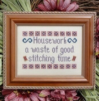Housework - Cross Stitch Pattern