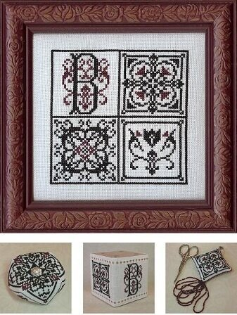 Monogram Block - Cross Stitch Pattern