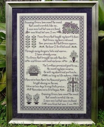 Amazing Grace - Cross Stitch Pattern