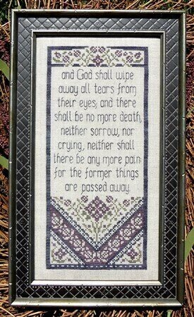 Revelation - Cross Stitch Pattern
