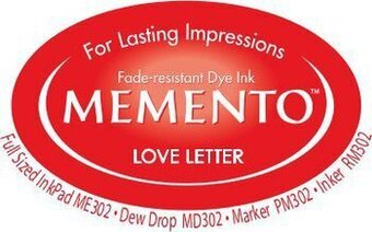 Memento Dew Drop Ink Pads - Love Letter