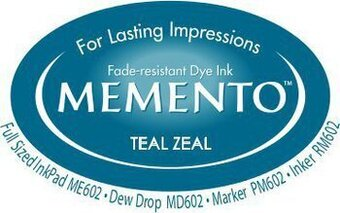 Memento Dew Drop Ink Pads - Teal Zeal