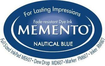 Memento Dew Drop Ink Pads - Nautical Blue