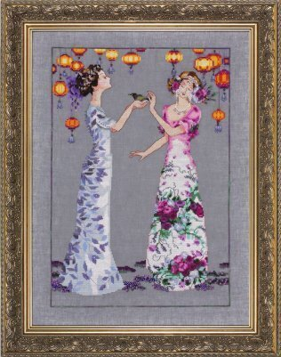 The Garden Party - Cross Stitch Pattern