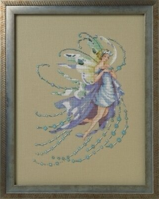 December Blue Topaz - Cross Stitch Pattern