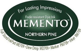 Memento Ink Pad - Northern Pine
