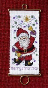Merry Christmas Santa - Beaded Cross Stitch Kit