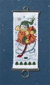 On the Ice - Beaded Cross Stitch Kit