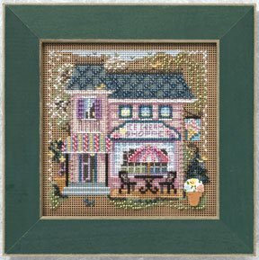 Ice Cream Shop - Beaded Cross Stitch Kit
