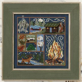 Cabin Fever - Beaded Cross Stitch Kit