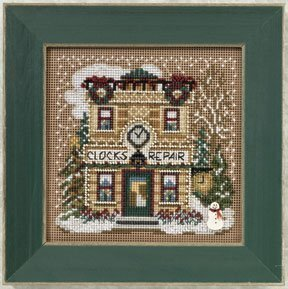 Clock Shoppe - Beaded Cross Stitch Kit