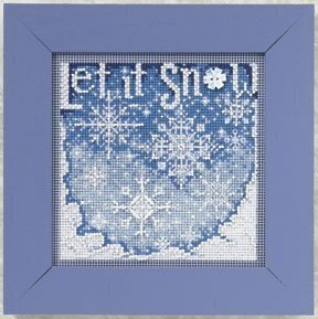 Snowfall - Beaded Cross Stitch Kit