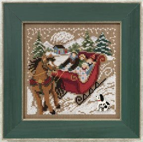 Through the Woods - Beaded Cross Stitch Kit