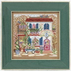 Flower Shoppe - Beaded Cross Stitch Kit