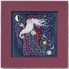 Wizard - Beaded Cross Stitch Kit