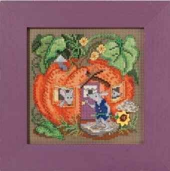 Mouse House - Beaded Cross Stitch Kit