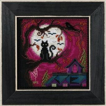Moonstruck - Beaded Cross Stitch Kit