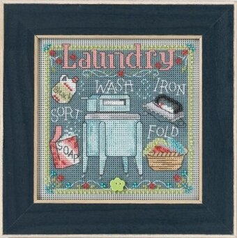 Laundry - Beaded Cross Stitch Kit