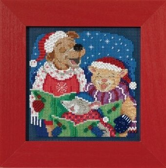 Caroling Trio - Cross Stitch Kit