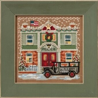 Police Station - Cross Stitch Kit