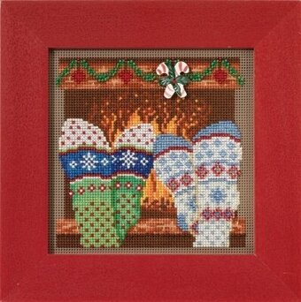 Cozy Feet - Cross Stitch Kit