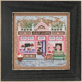 Sweet Shoppe - Beaded Cross Stitch Kit