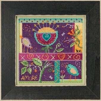 That's Amore - Beaded Cross Stitch Kit