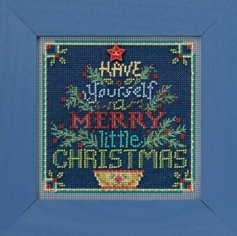 Merry Little Christmas - Beaded Cross Stitch Kit