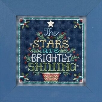 Brightly Shining - Beaded Cross Stitch Kit