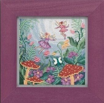 Fairy Garden - Beaded Cross Stitch Kit
