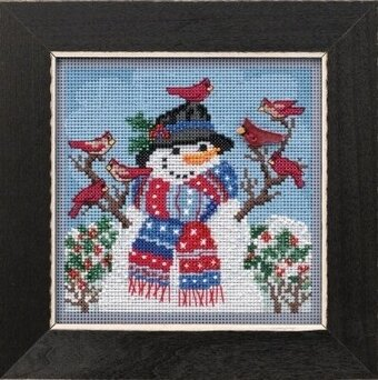 Winter Welcome - Beaded Cross Stitch Kit