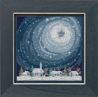 Winter Glow - Beaded Cross Stitch Kit