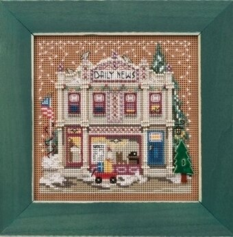Daily News - Beaded Cross Stitch Kit