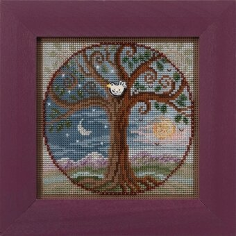 Tree of Life - Beaded Cross Stitch Kit