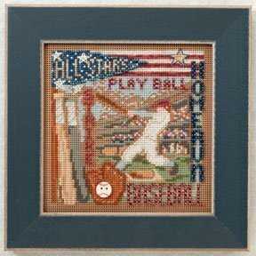 Home Run - Beaded Cross Stitch Kit