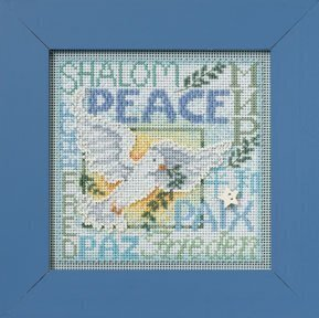 World Peace - Beaded Cross Stitch Kit