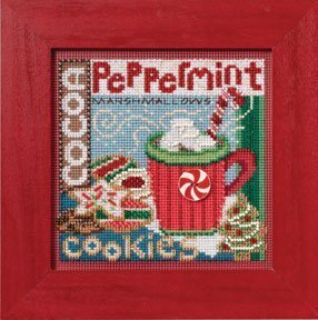 Santa's Treats - Beaded Cross Stitch Kit