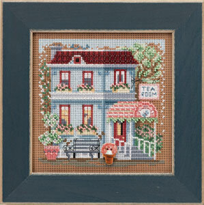 Tea Room - Beaded Cross Stitch Kit