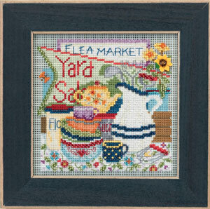 Yard Sale - Beaded Cross Stitch Kit