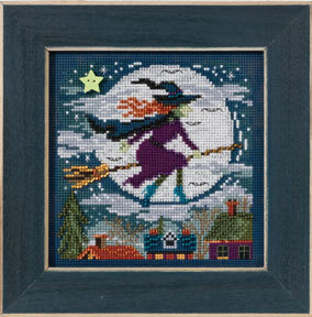 Witch Way - Beaded Cross Stitch Kit