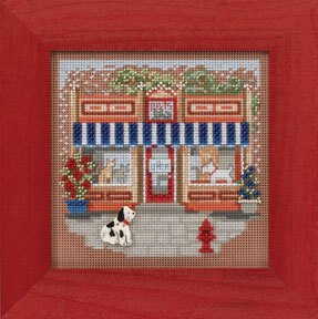 Pet Shoppe - Beaded Cross Stitch Kit