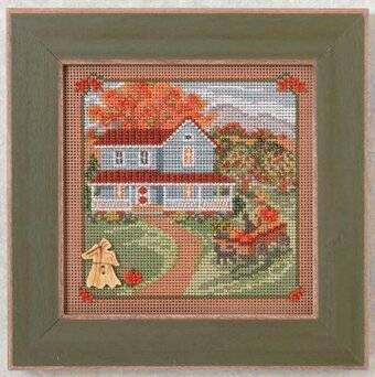 Harvest Home - Beaded Cross Stitch Kit