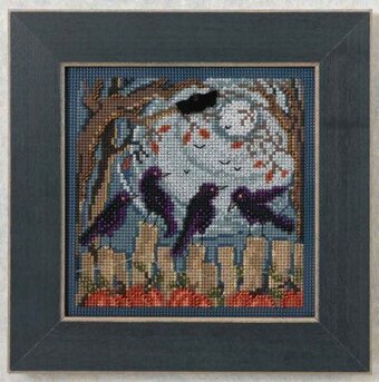 Ravens - Beaded Cross Stitch Kit