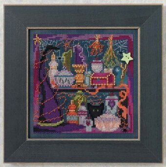 Wanda's Witchery - Beaded Cross Stitch Kit
