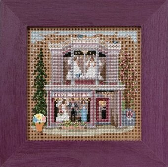 Bridal Shoppe - Beaded Cross Stitch Kit